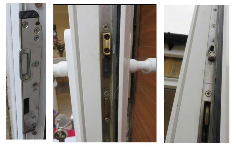 تعویض قفل درب upvc