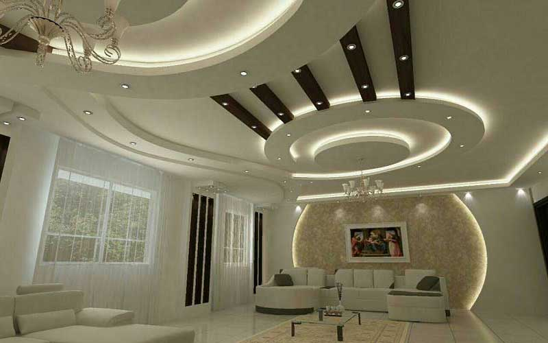 انواع سقف کاذب در دکوراسیون داخلی