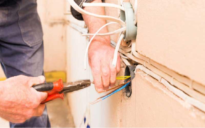 مراحل برق کشی ساختمان مسکونی
