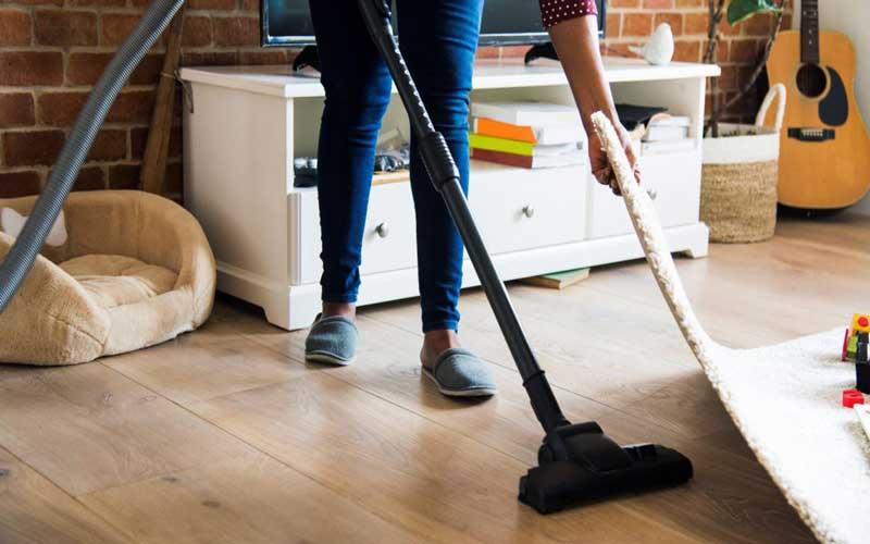 انتخاب نظافتچی منزل