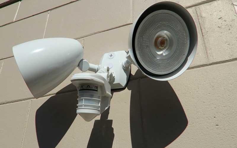 نصب لامپ سنسور دار ارزان