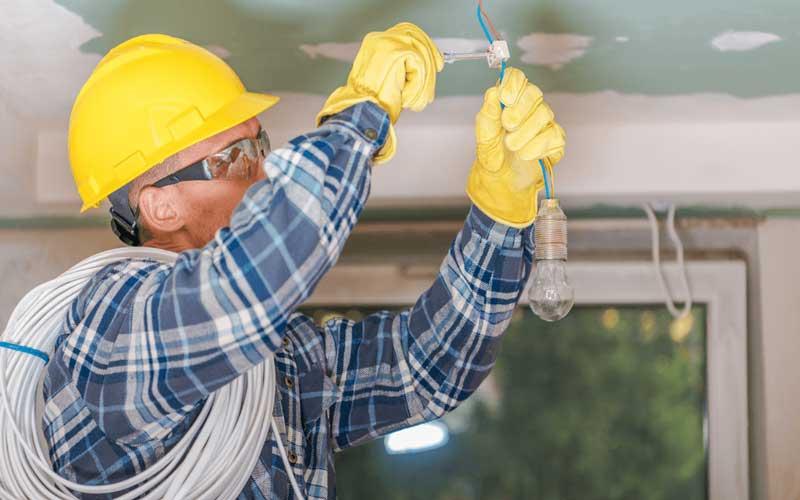 دستمزد برق کار ساختمان