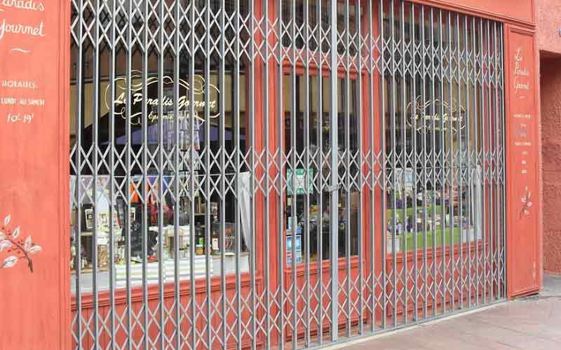 تعمیر حفاظ درب فلزی