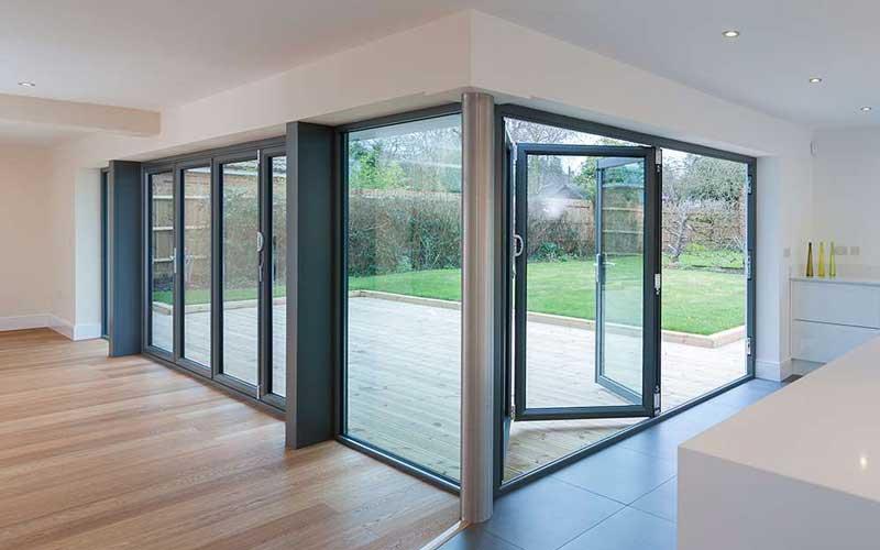 انواع پنجره دو جداره مدرن