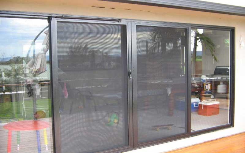 نصب توری پنجره دوجداره آلومینیومی