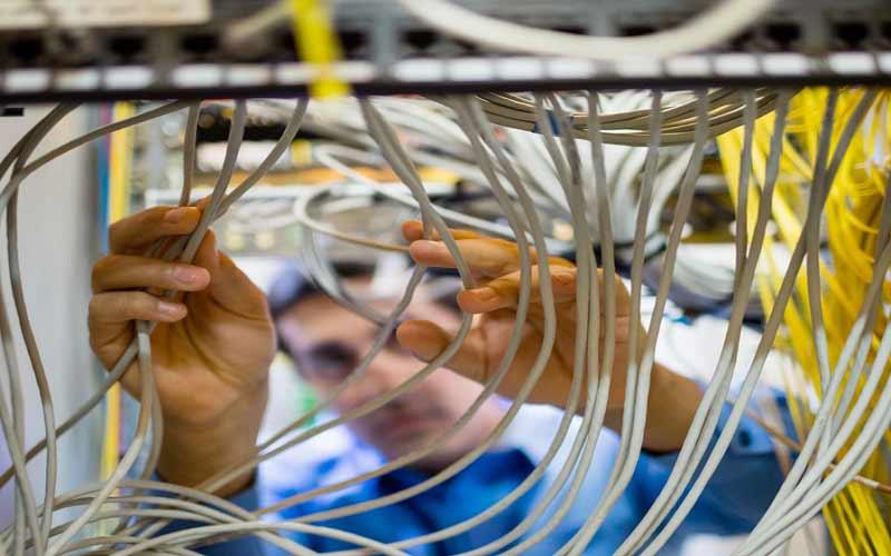 خدمات تعمیر سیم کشی تلفن ثابت در تهران