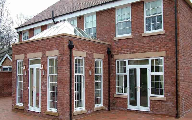 Photo of تغییر معماری نما با در و پنجره upvc