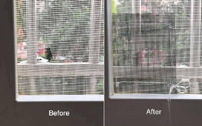 سرویس نصب و تعمیر توری پنجره