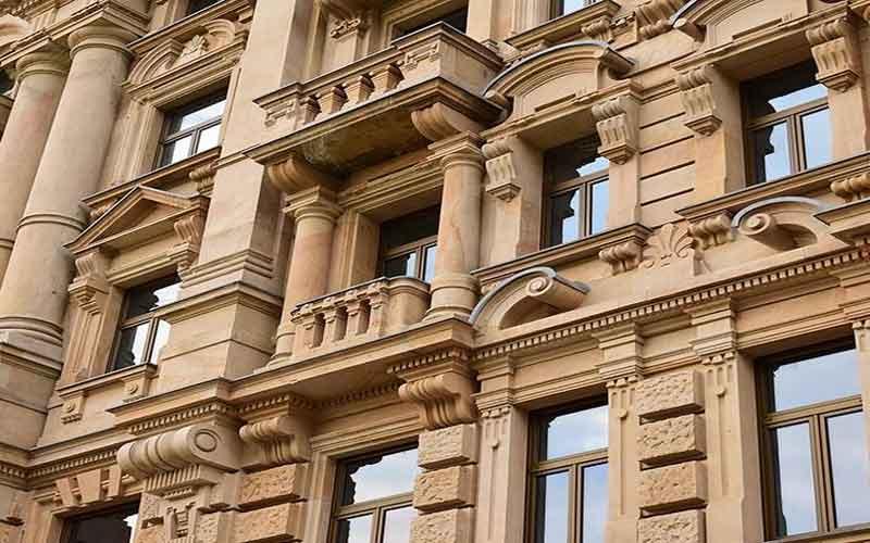 Photo of اجرای سنگ کاری نمای رومی ساختمان