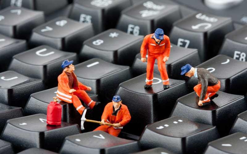 تعمیرات کیبورد کامپیوتر