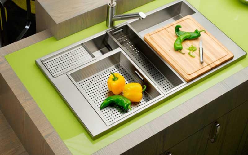 راهنمای نصب سینک ظرفشویی