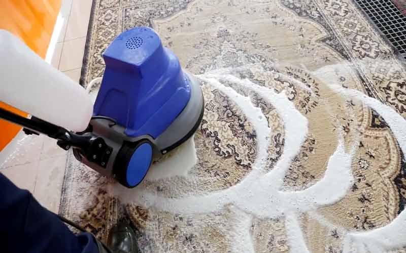 ضد عفونی فرش در قالیشویی