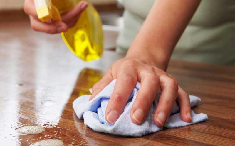 نظافت منزل و جلوگیری از کرونا
