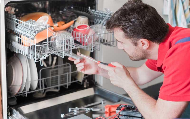 رفع بوی بد ماشین ظرفشویی فوری