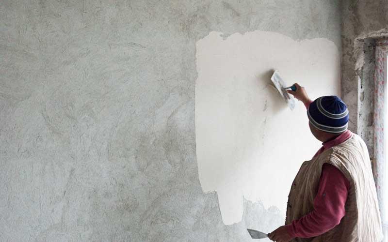 هزینه گچ کاری ساختمان