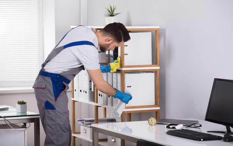 چک لیست روزانه نظافت محل کار