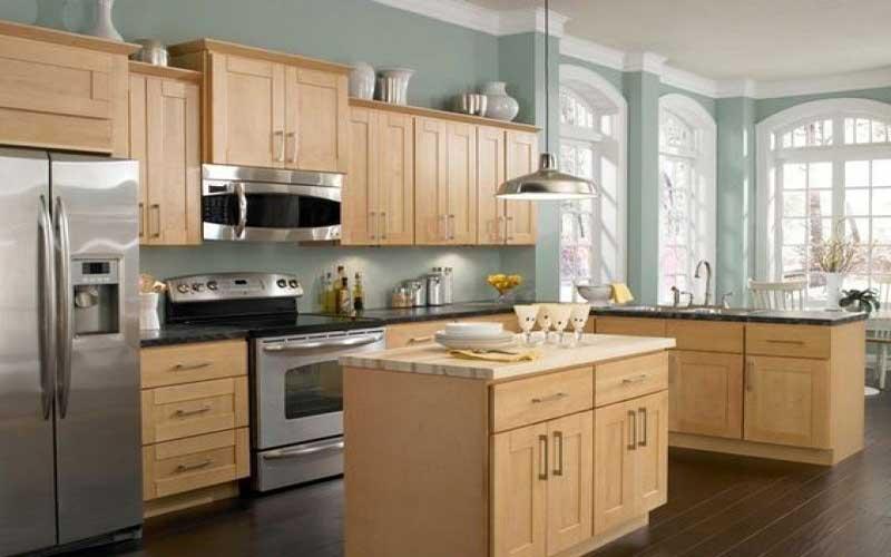 ابعاد استاندارد کابینت آشپزخانه