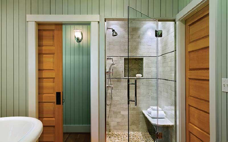 رفع پوسیدگی درب چوبی دستشویی