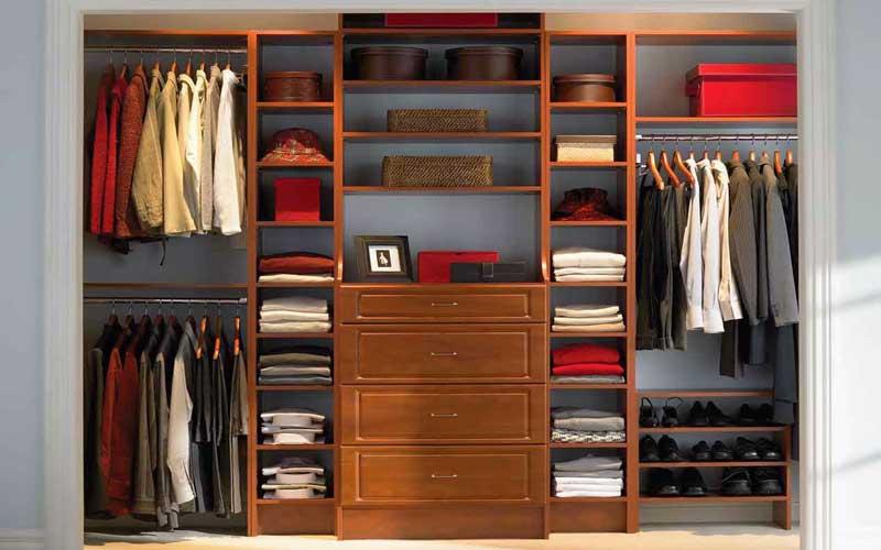 طراحی و ساخت کمد لباس