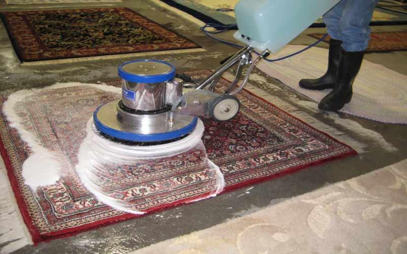 شستن فرش با دستگاه