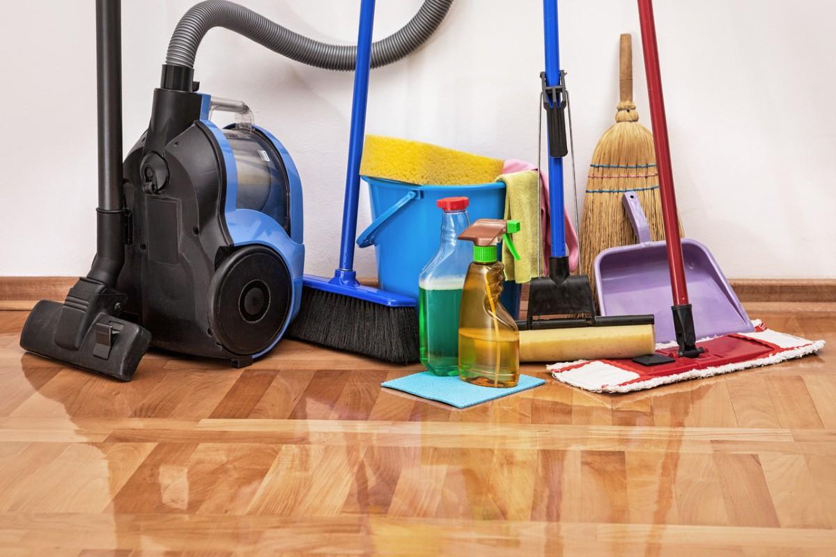 وسایل مورد نیاز برای تمیز کردن انبار خانه