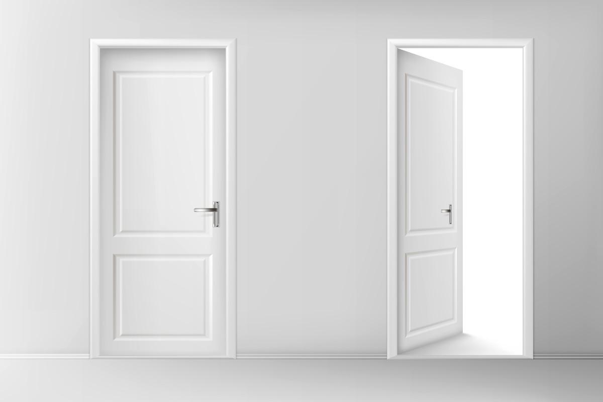 درب های ملامینه