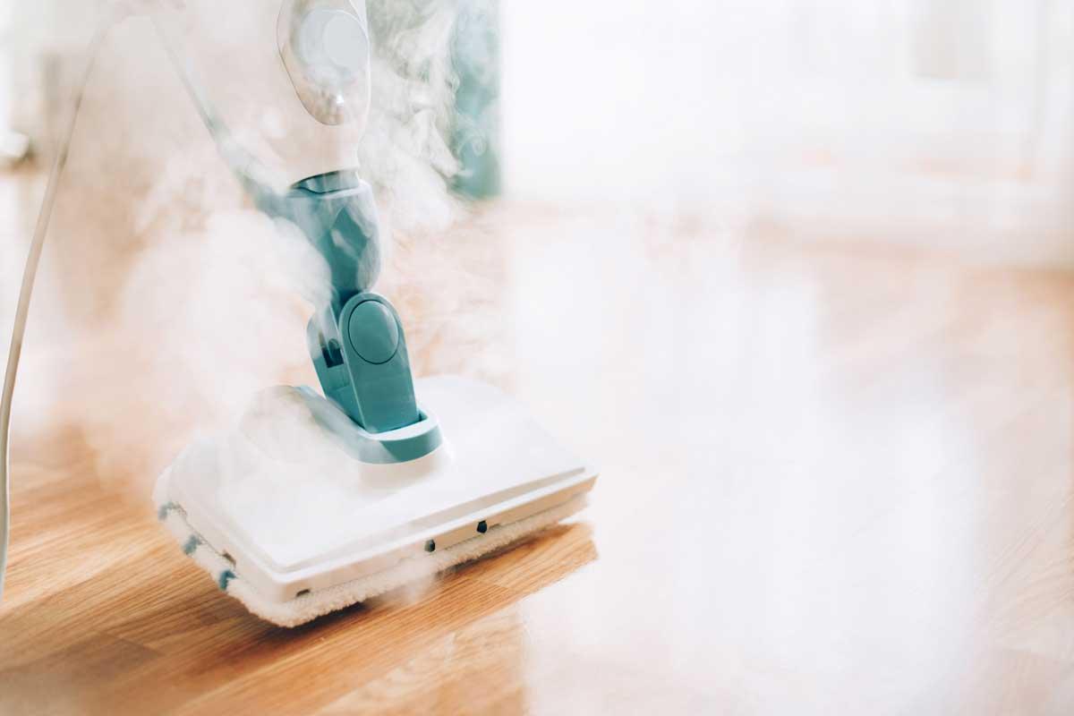 کاربرد بخارشو در خانه تکانی