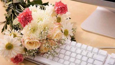 مزایای خرید آنلاین گل